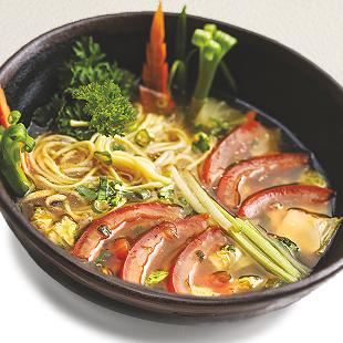 Суп Рамен овощной