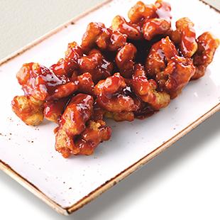 Хрустящая свинина по – сингапурски в томатно - медовом соусе