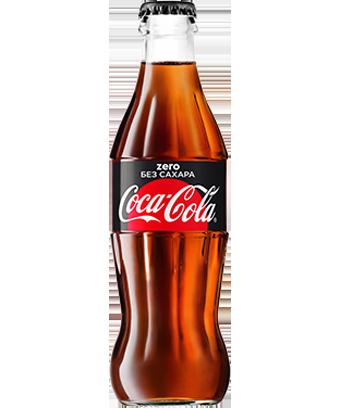 Кока-кола zero стекло 0,25л