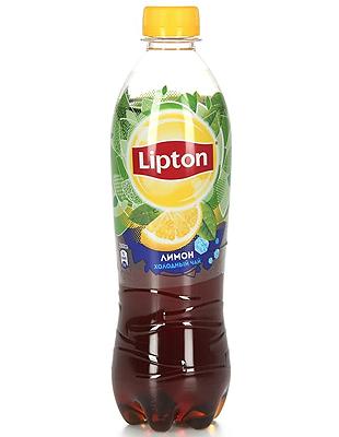 Липтон со вкусом лимона 0.5