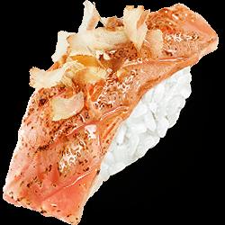 Нигири с тунцом опаленным