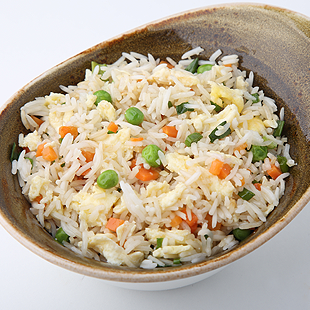 """Жаренный рис """"Басмати"""" с яйцом"""