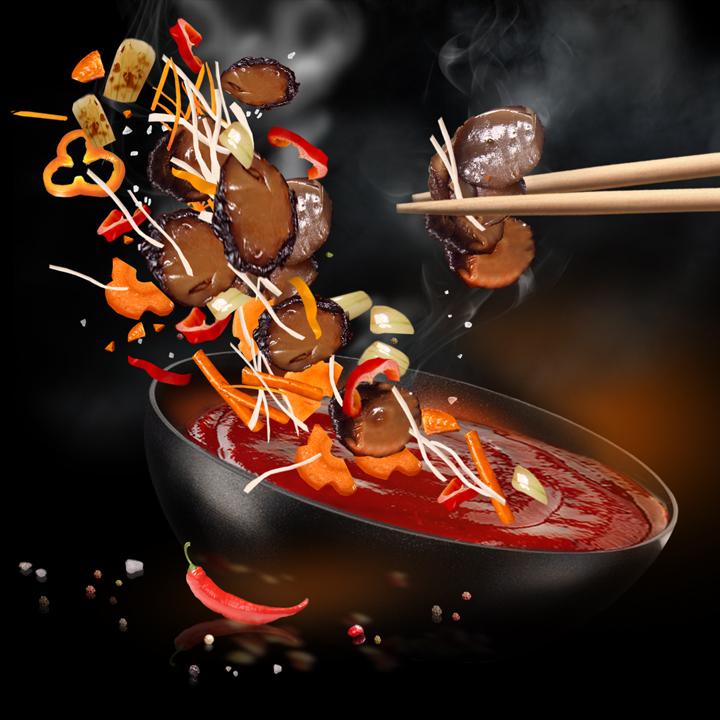 2S 4.Xi'an sauce  (270 g.)