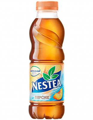 Nestea with peach flavor