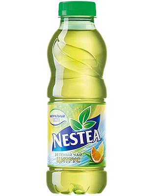 Нести зеленый чай со вкусом лимона 0,5л