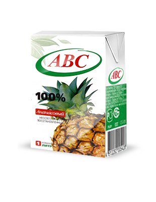 Нектар ABC ананас 0,2