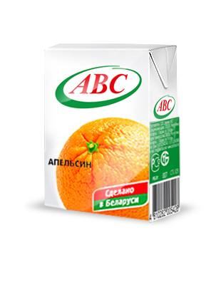Нектар ABC апельсин 0,2
