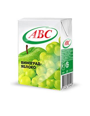 Нектар ABC яблоко-виноград 0,2